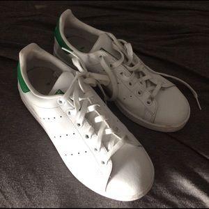 Adidas Shoes - Green Adidas Stan Smiths