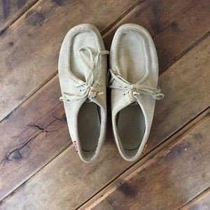 Clarks Shoes - Clarks Suede Wallabees