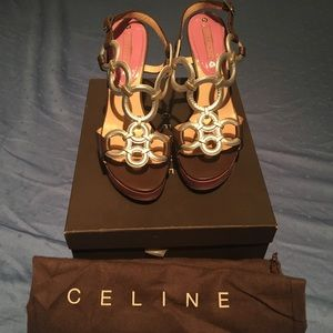 Celine Shoes - Celine wedge Flash saleB4 vacation