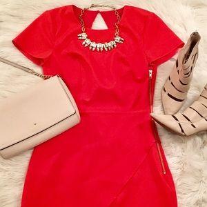 Revolve/NBD X Naven Twins Red Dress