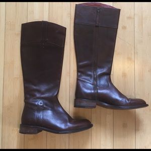 Trask Shoes - H.S. Trask Amazing Brown Leather Riding Boots! 9