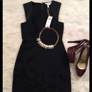 BCBGeneration Black Sheath Dress