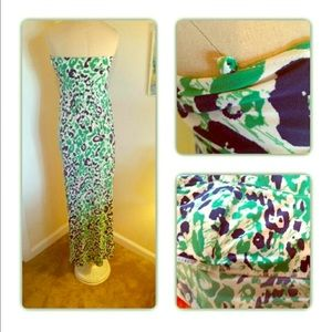 ABS Allen Schwartz Dresses & Skirts - 🍀Allen B sexy, silky, spring/summer maxi dress🍀