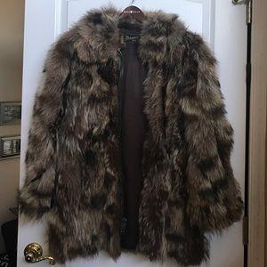 Jackets & Blazers - Raccoon Fur Jacket