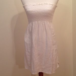 Juicy Couture 100% linen toille dress/ coverup