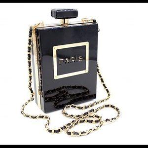Handbags - Acrylic Perfume Evening Bag