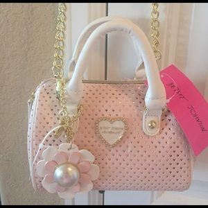 Betsey Johnson Handbags - 🌸NEW! BETSEY JOHNSON MINI SATCHEL CROSS BODY BAG