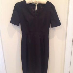 J. Crew Dresses & Skirts - J. Crew Super 120s pinstripe memo dress