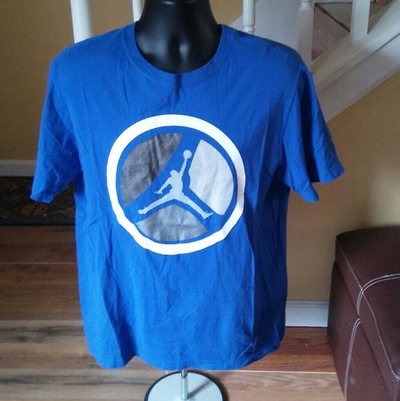 a1f11bae2b2012 Jordan Other - Mens sz large blue jordan t-shirt nwots