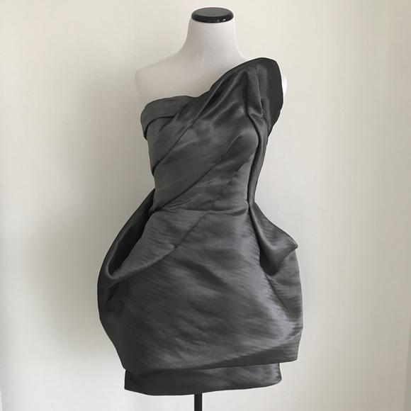 Rubin Singer Dresses Liquid Asymmetrical Dress Size 6 Poshmark