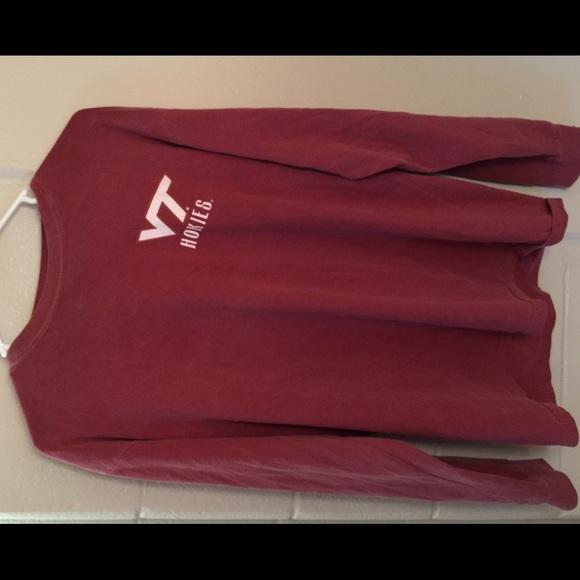 comfort colors Tops - Virginia tech comfort colors alumni hall shirt 62ec9896fc8f