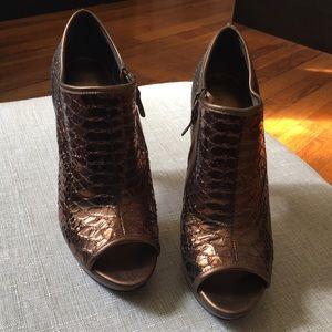 Via Spiga Shoes - PreOwned Bronze Gold Via Spiga sz 8