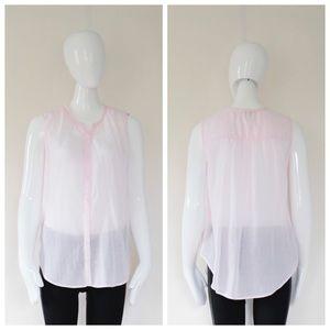 Joie Tops - Joie light pink button down shirt. S s