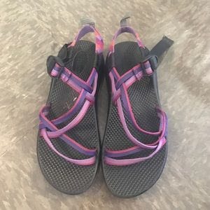 Chacos Shoes - Purple double strap chacos SIZE 7 WOMEN 5 YOUTH