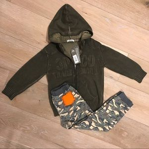 3Pommes Other - 🔥2 FOR 1🔥 NWT 3POMMES HOODIE & AMY COE SWEATS