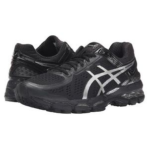 Asics Shoes - Black and silver Asics GEL-Kayano 23