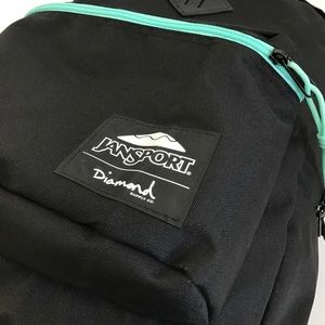 Diamond Supply Co. Bags - Diamond Supply Co. x Jansport Backpack