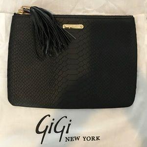 GiGi New York Handbags - ON HOLD Brand new GIGI New York black clutch