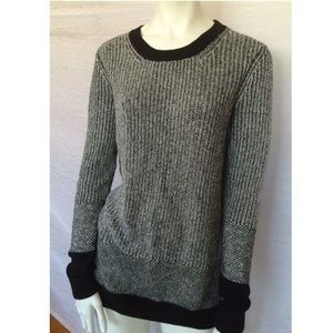 Kenneth Cole Sweaters - Kenneth Cole ny$148 NWT Black Colorblock Sweater S