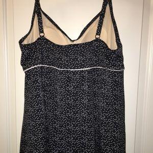 c83d75eedc2 Le Cove Swim - Le Cove womens plus size polka dot swim dress 20