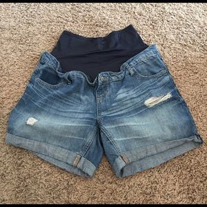 Old Navy Pants - Maternity Denim Shorts
