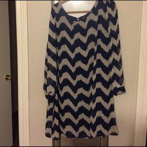 Cato Dresses & Skirts - Cato Chevron Dress