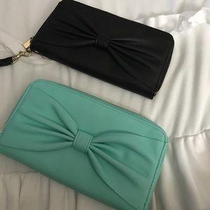 BUNDLE Bow Wallet/Wristlet