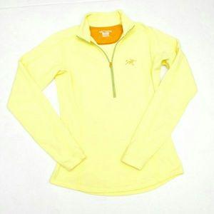 Arc'teryx Sweaters - ARC'TERYX Waffle Fleece Pullover 1/4 Zip Polartic