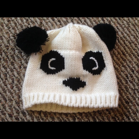 06d49861a19c4 Charlotte Russe Accessories - Panda bear beanie hat with ears