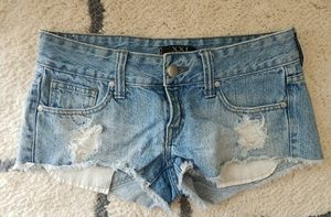 Forever 21 Pants - FOREVER 21 distressed jean shorts