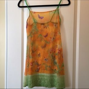 Cosabella Other - NWOT Cosabella mesh butterfly chemise, size M