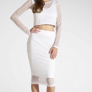 Kardashian Kollection Dresses & Skirts - Kardashian Kollection mesh skirt