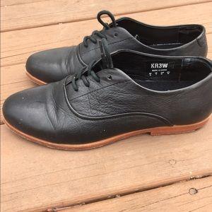 KR3W Other - KR3W black Oxfords