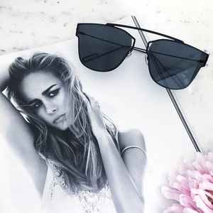 "Erica Rose Accessories - ""Camilla"" Sunglasses    Black"
