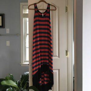Kensie Dresses & Skirts - Kensie High Low Striped Tank Dress