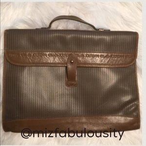 Charles Jourdan Handbags - Vintage Charles Jourdan briefcase bag