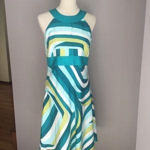 📢SALE📢100% SILK Halter Dress by ANN TAYLOR