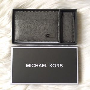Michael Kors Other - Gray Men's Michael Kors Wallet & Money Clip Set