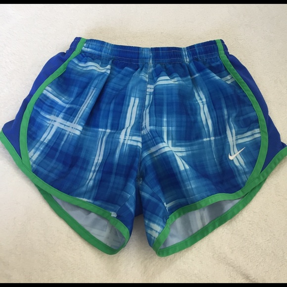 Nike Other - ⭐️blue and green kids size M dri-fit shorts