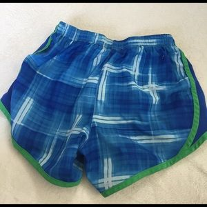 Nike Bottoms - ⭐️blue and green kids size M dri-fit shorts