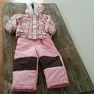 Pacific Trail Other - 🐙 Pacific Trail Pink Snow Bibs and Jacket