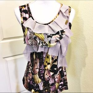 Anthropologie Tops - Anthropologie one September butterfly top