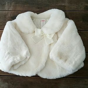 Gymboree Other - 🐙 GYMBOREE Faux Fur Coat