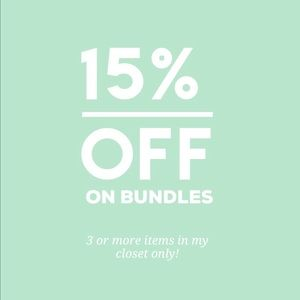 Tops - 🌸15% OFF BUNDLES FROM MY CLOSET ONLY🌸