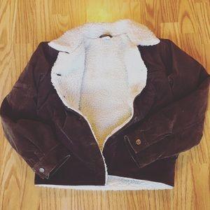 O'Neill Jackets & Blazers - O'Neil Sherpa lined corduroy jacket
