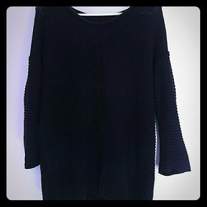 Eddie Bauer sweater knit navy!