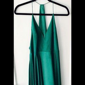 Kimchi Blue Dresses & Skirts - Kimchi Blue Vida Satin Handkerchief Midi Dress