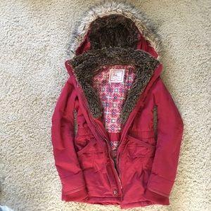 Bershka Jackets & Blazers - Red Bershka coat