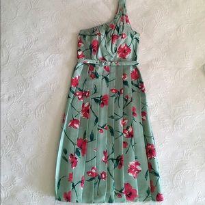 Dresses & Skirts - New Pretty Silk Spring/Summer One Shoulder Dress