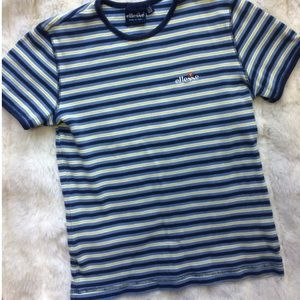 Ellesse Tops - Rare Striped Ringer Ellesse Shirt